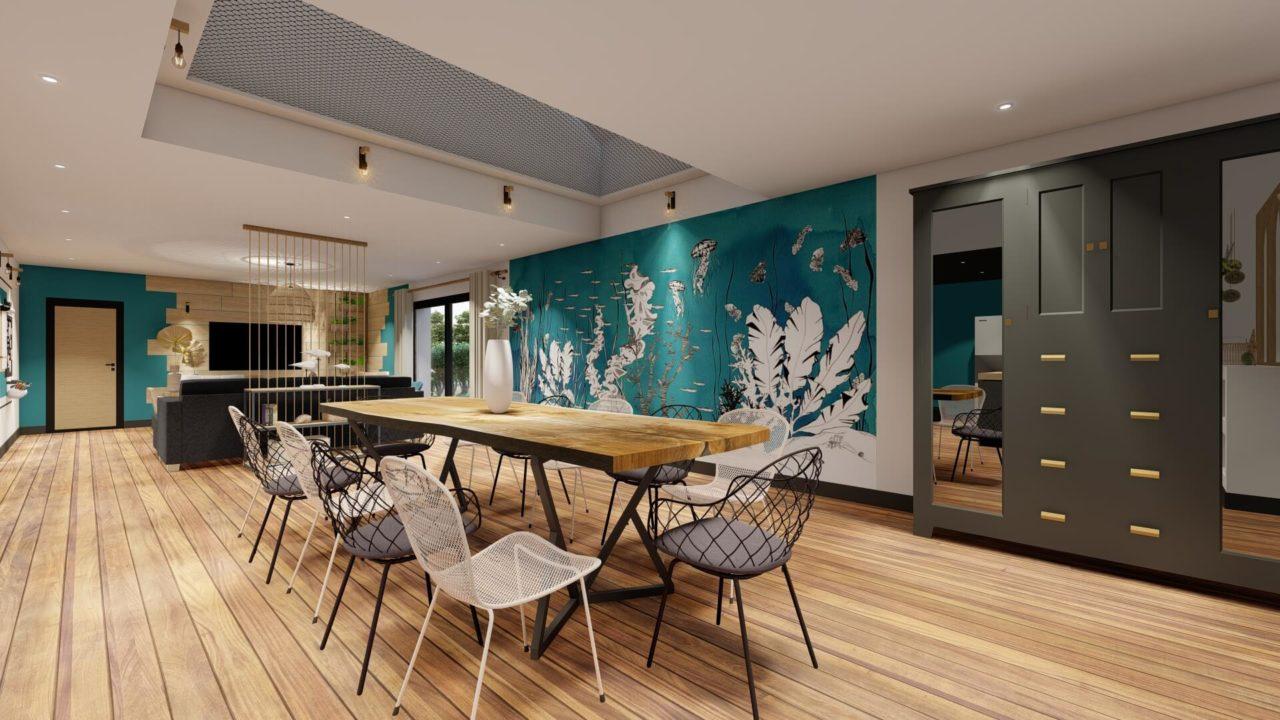 filet d'habitation papier peint panoramique